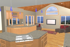 Lanyons Cad Drawing kitchen to new porch